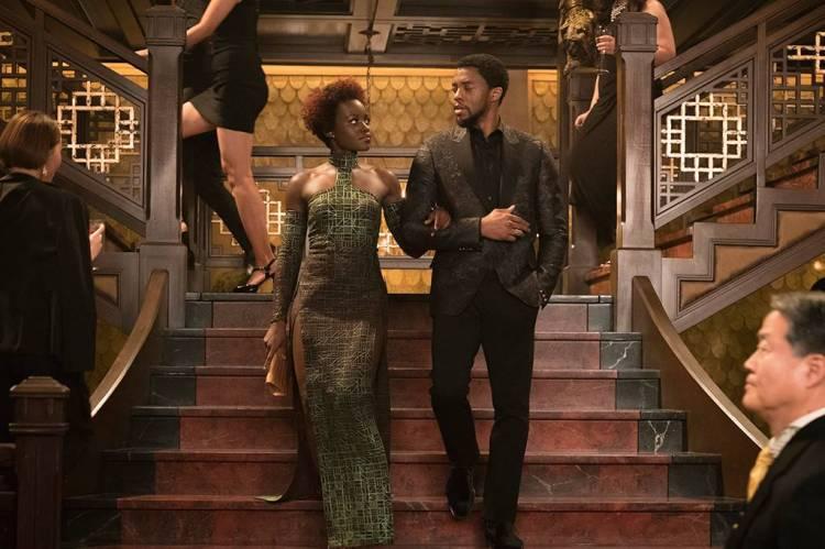 Black Panther Bond Dress