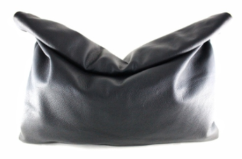 Love, Cortnie Leather Clutch