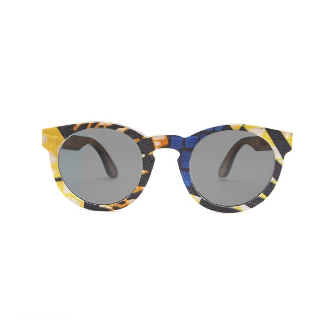 Ballo African Fabric Sunglasses
