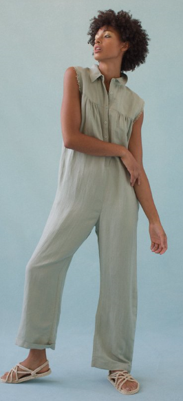Utilitarian Jumpsuit by Feather Drum